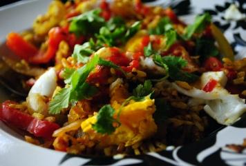 Asian Fusion Breakfast Scramble 3