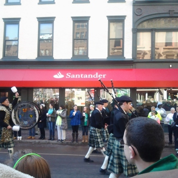 I'm used to seeing kilts in this parade.