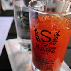 $5 bloody mary at Sage, NYC