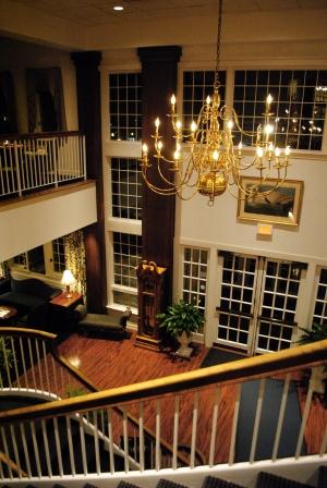 Simsbury Inn -- Staircase