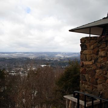 Top of Talcott Mountain