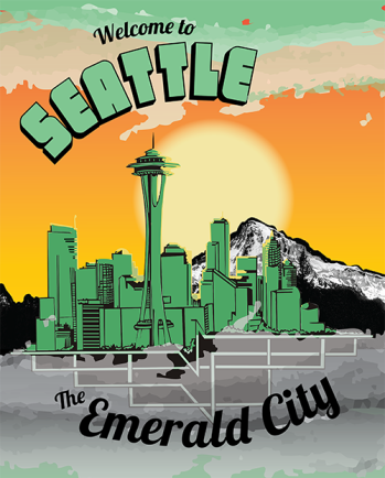 """The Emerald City"" has been Seattle's official nickname since 1982."