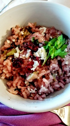 Cranberry Risotto